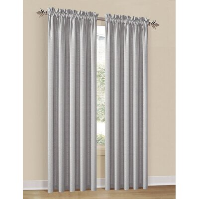 DR International Heather Wave Rod Pocket Curtain Single Panel