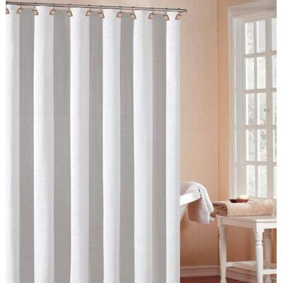 Bahamas Jacquard Hotel Shower Curtain