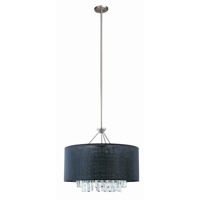Piccadilly 5 Light Drum Pendant