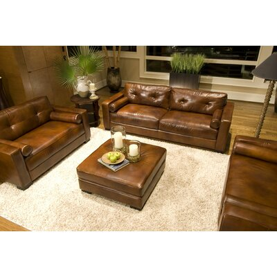 Elements Fine Home Furnishings Soho Leather Sofa