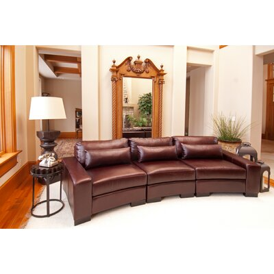 Elements Fine Home Furnishings Loft Leather Sectional