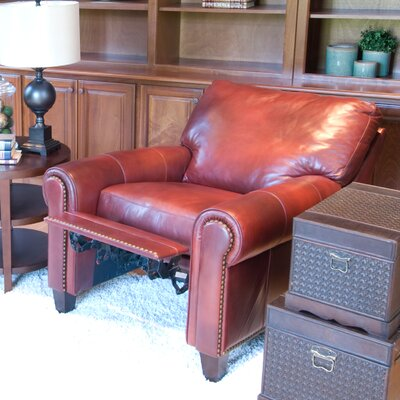Elements Fine Home Furnishings Garret Leather Recliner