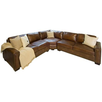 Carlyle Leather Sectional Wayfair