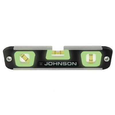Johnson Level and Tool Magnetic Glo-View Torpedo Level