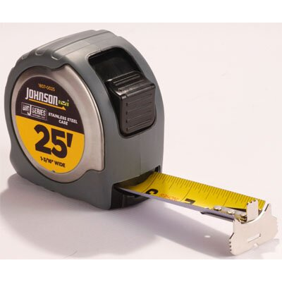 "Johnson Level and Tool 25' x 1-0.188"" Big J Power Tape"