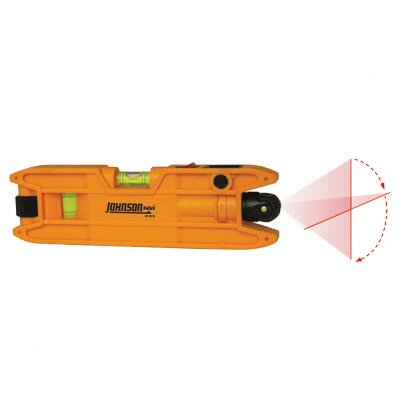 Johnson Level and Tool Magnetic Torpedo Laser Level