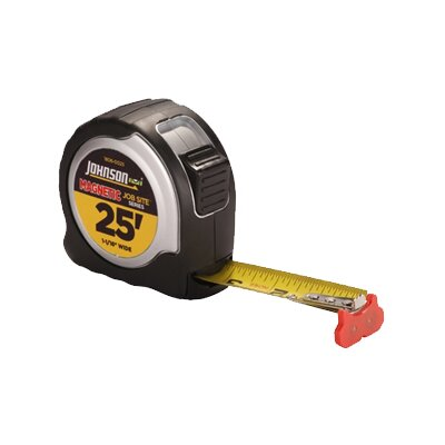 "Johnson Level and Tool 25' x 1-0.063"" Jobsite Magnetic Tape"
