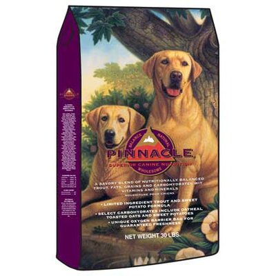 Pinnacle Holistic Pet Nutrition Canine Holistic Trout and Sweet Potato Recipe Dry Dog Food