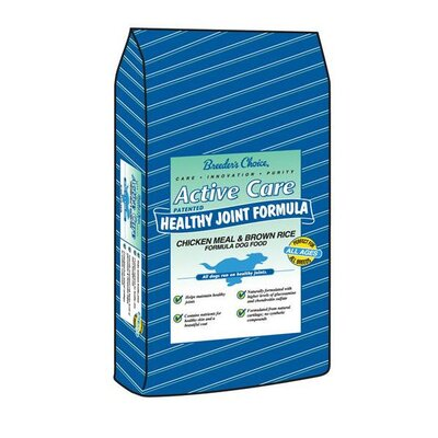 Active Care Pet Food Chicken Meal and Brown Rice Hip and Joint Formula Dry Dog Food
