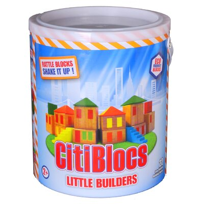 Citiblocs Little Builders Rattle Blocks