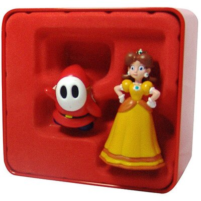 Goldie Marketing Super Mario - Daisy and Shy Guy Collector Tin - Series 2 (2 Pack)