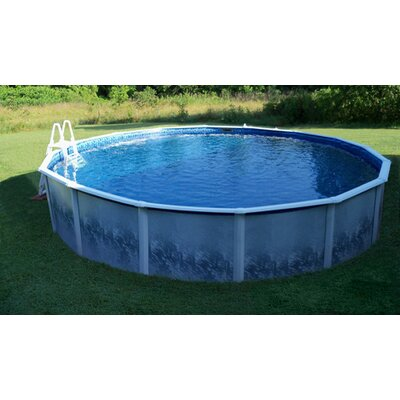 Infinity Pools SS Series Round Swimming Pool