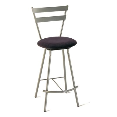"Amisco Valentino 24"" Swivel Counter Stool"