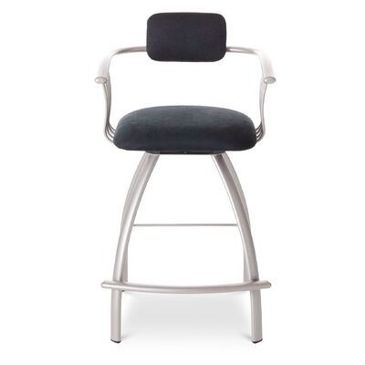 Amisco Kris Swivel Barstool