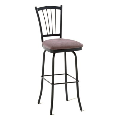 "Amisco Naomi 26"" Swivel Counter Stool"