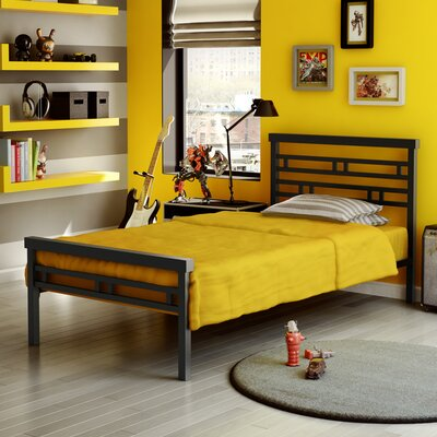 Amisco Sentinel Twin Steel Bed