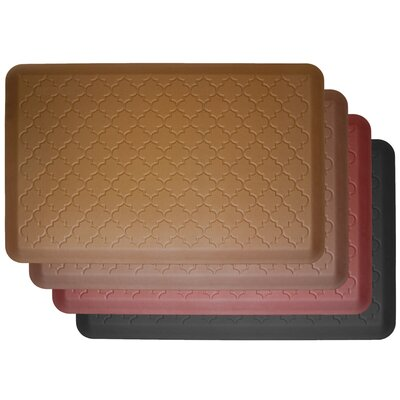 WellnessMats Motif-Trellis, Premium Anti-Fatigue Mat
