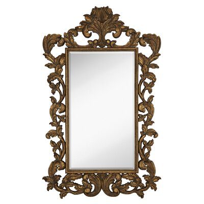 Traditional Rectangular Bevel Wall Mirror