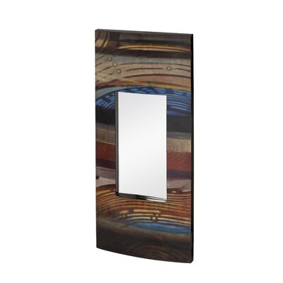 Majestic Mirror Mixed Media Rectangular Wall Mirror
