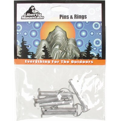 Liberty Mountain External Pack Ring and Pin (Pack of 6)