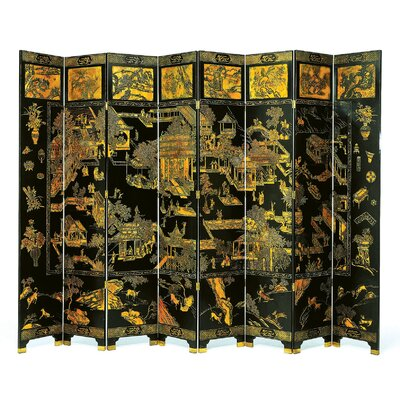 8 Feet Tall Summer Palace Floor Screen