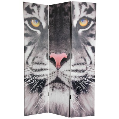 Oriental Furniture 6 Feet Tall Double Sided Tiger Room Divider