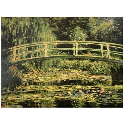 Japanese Bridge at Giverny Canvas Wall Art