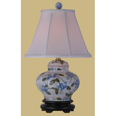 Oriental Furniture Porcelain Jar Table Lamp