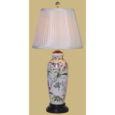 Oriental Furniture Porcelain Vase Table Lamp