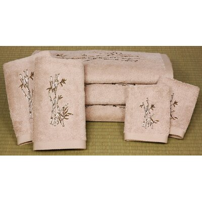 Bamboo Tree 7 Piece Towel Set