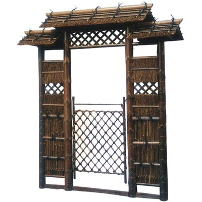 oriental furniture japanese style zen garden gate