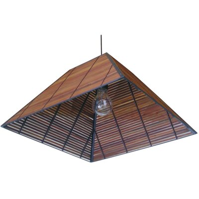 Yamanote Japanese 1 Light Hanging Lantern