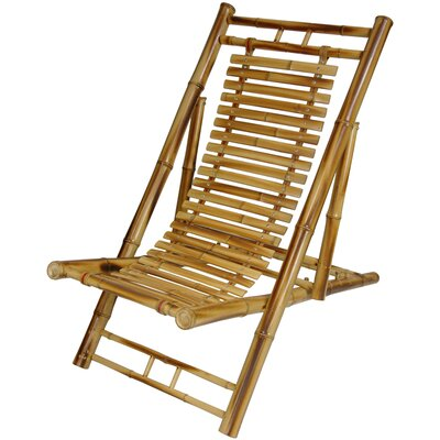 Japanese bamboo folding chair wayfair for Outdoor furniture japan