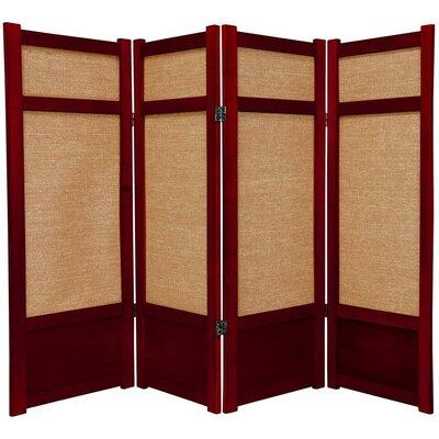 "Oriental Furniture 48"" Shoji  Jute Room Divider"
