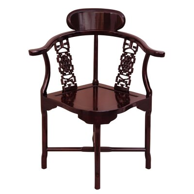 Oriental Furniture Corner Arm Chair