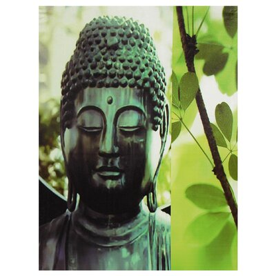 Outdoor Buddha Photographic Print on Canvas