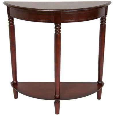 Oriental Furniture Half Round Console Table