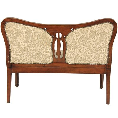 Oriental Furniture Cotton Loveseat