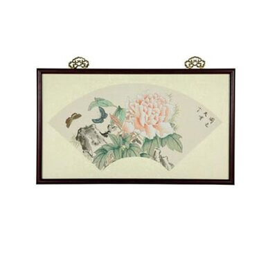 Oriental Furniture Dancing Butterflies Oriental Watercolor Painting
