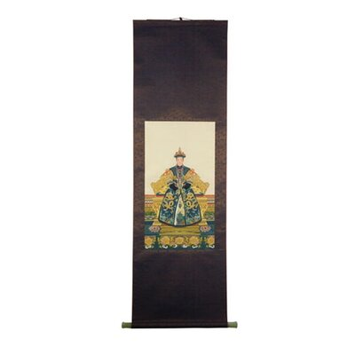 Jade Queen Oriental Silk Painting