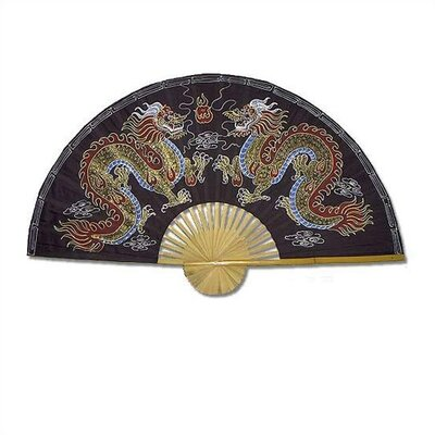 Oriental Furniture Chinese Dragons Oriental Fan