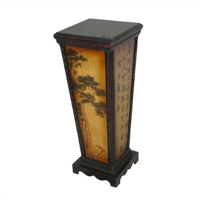Oriental Furniture Tree Flower Pedestal Plant Stand
