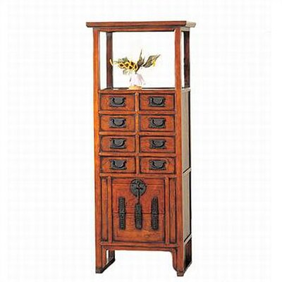 Oriental Furniture Japanese Display Cabinet