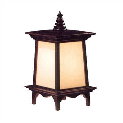 Oriental Furniture Decorative Oriental Puggi Table Lamp