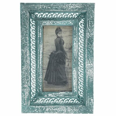 Rustic Bustled Lady Framed Graphic Art