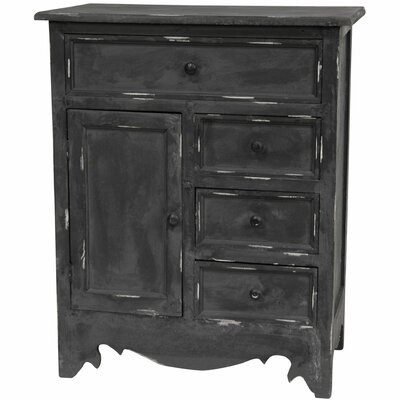 Oriental Furniture 4 Drawer Cabinet