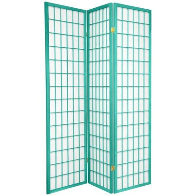 Oriental Furniture Window Pane in Green