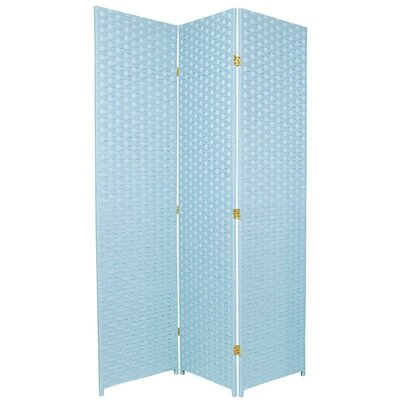 "Oriental Furniture 70.75"" Special Edition Woven Fiber 3 Panel Room Divider"