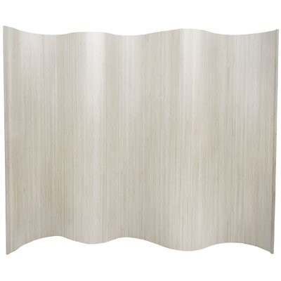 "Oriental Furniture 72.25"" x 98"" Bamboo Tree Tall Wave Room Divider"