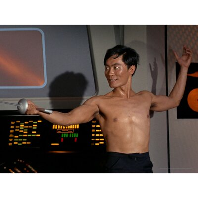 Oriental Furniture Star Trek The Naked Time Wall Art